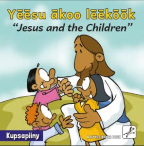 Bibelhistoriebøger til sapiiny børnene i Uganda